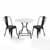 Display -  3-Piece Amelia Chairs