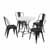 Display 1 -  5-Piece Amelia Chairs