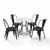 Display 2 -  5-Piece Amelia Chairs