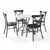 Lifestyle -  5-Piece Camille Chairs