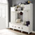 4 pc. in Distressed White, Lifestyle View 1