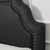 Crosley Furniture Loren Keystone Upholstered Bed Set, Charcoal Linen Finish