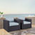 Set w/ Mist Cushions - 2 Chairs, Lifestyle View