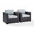 Set w/ Mist Cushions - 2 Chairs, View 1