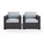 Set w/ Mist Cushions - 2 Chairs, View 2