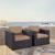 Set w/ Mocha Cushions - 2 Chairs, Lifestyle View