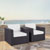 Set w/ White Cushions - 2 Chairs, Lifestyle View