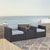Set w/ Mist Cushions - 2 Chairs & Coffee Table Lifestyle View
