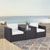 Set w/ White Cushions - 2 Chairs & Coffee Table Lifestyle View