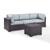 Set in Mist, Loveseat, Corner Chair, & Coffee Table, View 2