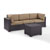 Set in Mocha, Loveseat, Corner Chair, & Coffee Table, View 2