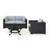 Set in Mist, 2 Corner Chairs, 1 Armchair & Firepit, View 1