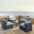Set in Mist, 4 Chairs, & Firepit, Lifestyle View