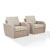 Oatmeal Cushions, Product View 1