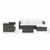 Crosley Furniture Sea Island 6 Piece Wicker Sectional Set, Gray Finish