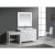 """White 48"""" Single Sink Vanity Set w/ Make-Up Table Product View 1"""