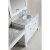"""White 48"""" Double Sink (2) Vanities w/ Make-Up Table Product View 5"""