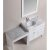 "White 36"" Single Sink Product View 2"