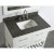 "White 36"" Gray Quartz Top Product View 4"
