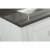 "White 72"" Gray Quartz Top Product View 8"