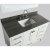 "White 48"" Gray Quartz Top Product View 3"