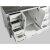 "White 48"" Gray Quartz Top Product View 5"