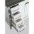 "White 48"" Gray Quartz Top Product View 8"