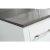 "White 48"" Gray Quartz Top Product View 9"