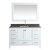 "White 54"" Gray Quartz Top Product View 10"