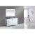 "White 54"" Gray Quartz Top Product View 2"