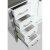 "White 54"" Gray Quartz Top Product View 8"