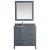 "Gray 36"" Gray Quartz Top Product View 11"