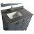 "Gray 36"" Gray Quartz Top Product View 4"