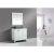 "White 36"" Gray Quartz Top Product View 3"