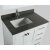 "White 36"" Gray Quartz Top Product View 4"