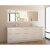 """White 84"""" Vanity Set w/ Wall Mirror"""