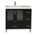 "Design Element Westfield 36"" Single Sink Vanity in Espresso with White Quartz Countertop, 36"" W x 22"" D x 35"" H"