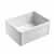 "Empire Industries Olde London 24"" W x 18"" D Reversible Casement Edge Front Fireclay Single Bowl Farmhouse Kitchen Sink in White"