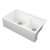 "Empire Industries Titan 33"" Granite Composite Farmhouse Double Bowl Kitchen Sink in White, 33-1/2"" W x 19-1/4"" D x 10"" H"