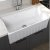 """Empire Industries Yorkshire Reversible Farmhouse Fireclay 33"""" Single Bowl Kitchen Sink in White, 33"""" W x 18"""" D x 10"""" H"""