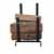 Enclume Premium Collection Indoor/Outdoor Hearth Fireplace Log Rack in Black, 17-1/2''W x 13''D x 19''H