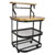 Enclume Backer's Cart with Butcher Block Top