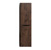 """Eviva Smile 16"""" W Rosewood Wall Mount Linen Side Cabinet, 15"""" W x 11"""" D x 59"""" H"""