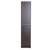 """Eviva Lugano 16"""" W Gray Oak Freestanding Modern Bathroom Linen Side Cabinet, 16"""" W x 13"""" D x 75"""" H"""