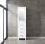 """18"""" W White Linen Side Cabinet"""
