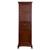 "Eviva Elite Stamford 24"" W Brown Freestanding Linen Side Cabinet, 23-1/4"" W x 18"" D x 76"" H"