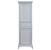 "Eviva Elite Stamford 24"" W Gray Freestanding Linen Side Cabinet, 23-1/4"" W x 18"" D x 76"" H"