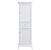 "Eviva Elite Stamford 24"" W White Freestanding Linen Side Cabinet, 23-1/4"" W x 18"" D x 76"" H"
