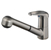 Brushed Nickel Gaia Pull Out Faucet