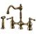 Antique Brass Lexington Bridge Faucet